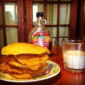 Low FODMAP Butternut Squash Pancakes