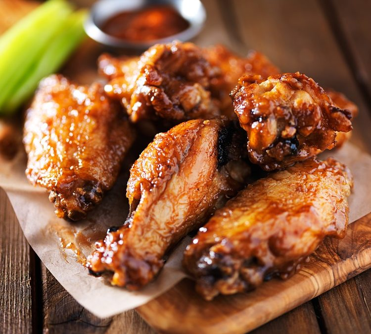 Superbowl Sunday Sweet and Savory Wings