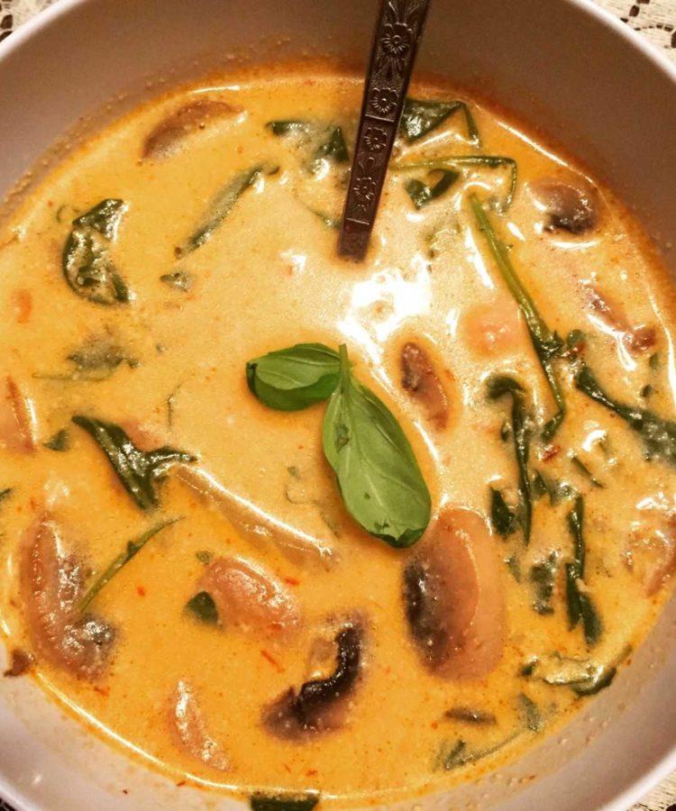 Thai spice soup