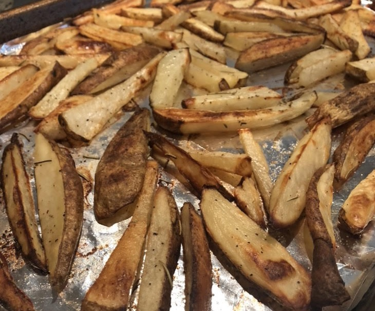 Basic Baked Summer Seasoned Steak Fries