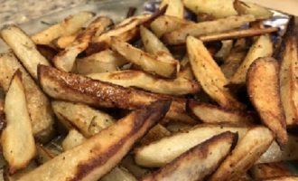 Seasoned Summer Steak Fries