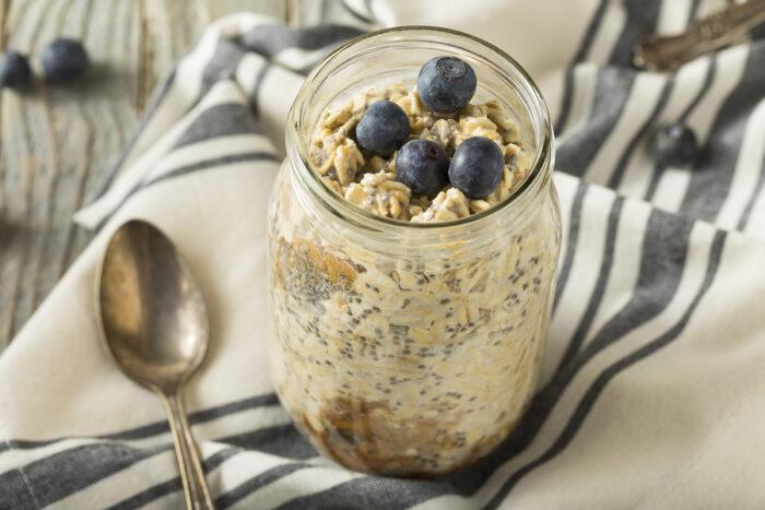 Low FODMAP overnight oats