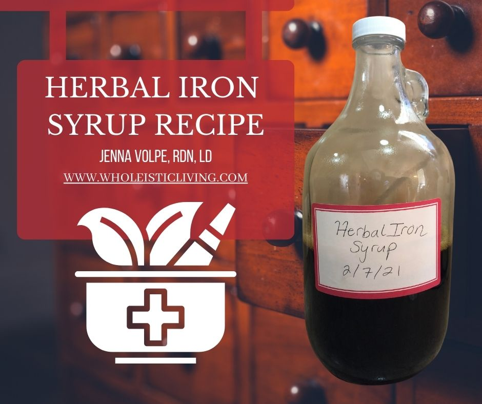 herbal iron syrup recipe