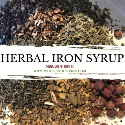 herbs for iron syrup
