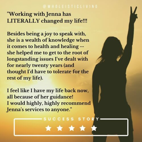 Jenna Volpe Client Success Story