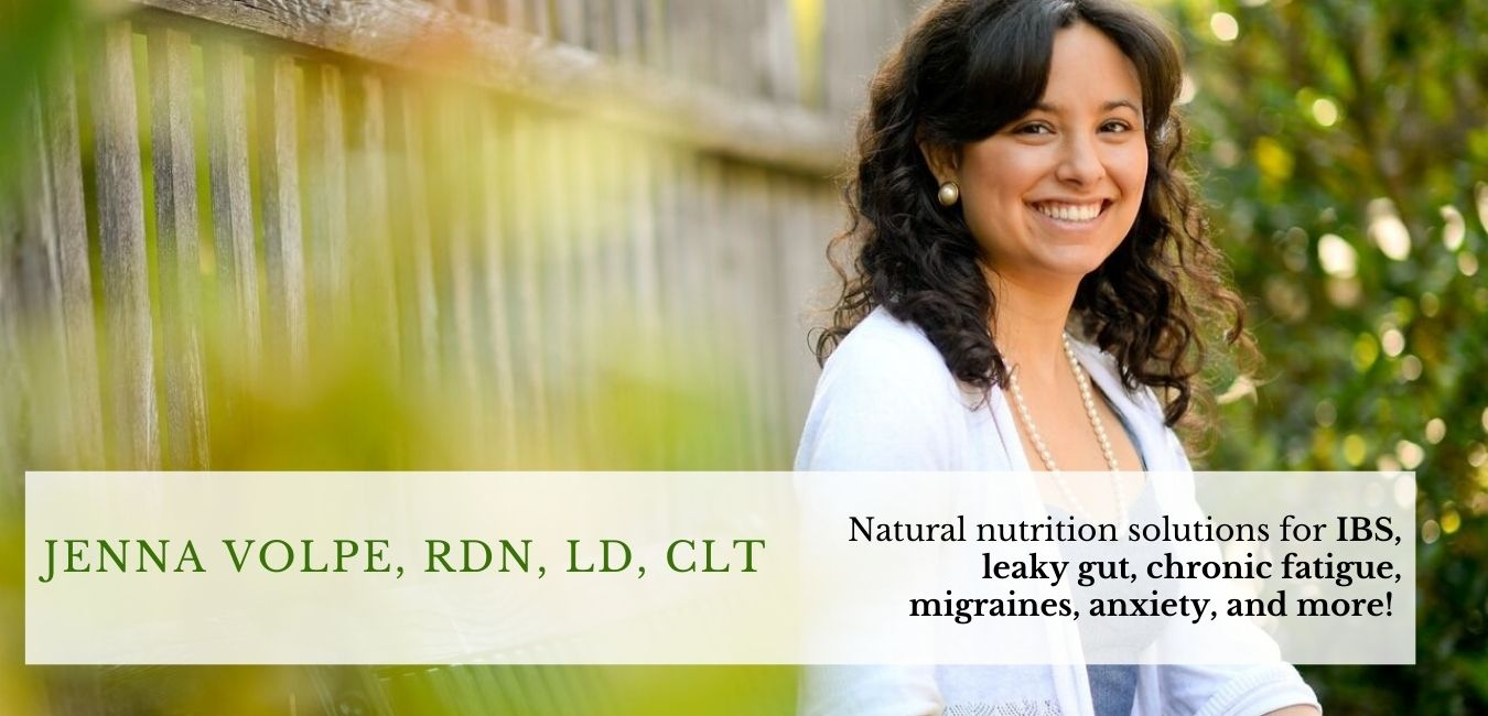 Jenna Volpe - Functional Dietitian-Nutritionist Clinical Herbalist and Certified Leap Practitioner