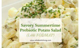 Low FODMAP Prebiotic Potato Salad
